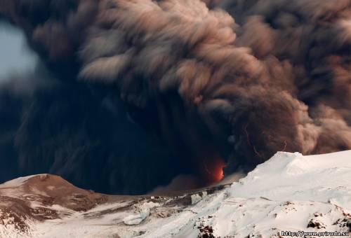 Клівленд, вулкан, виверження, Аляска, обсерваторія