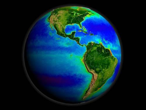 течія, антарктична циркумполярна, швидкість, обертання, Земля