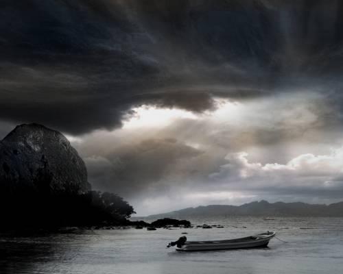 небо, Земля, Фукусіма, атмосфера