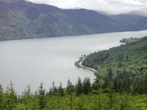 озеро, припливи, Шотландія, Лох-Несс
