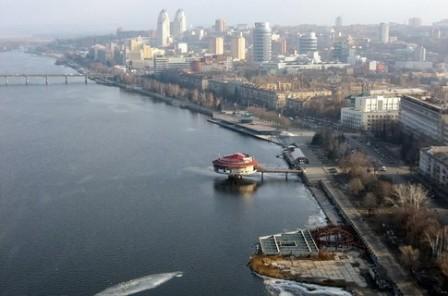 Дніпро, Дніпропетровськ, панорама, 3D, Яндекс, Карти