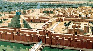 древні міста, Месопотамія, береги річок, тяжіння міста