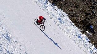 Австрія, Вулкан, Цікаве, Велосипедист, Швидкість