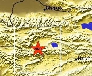 Киргизстан, Бішкек, землетрус