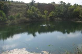 дайвінг, Воробйов, озеро, Соледар