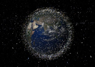 сміття, орбіта, Земля, НАСА, космос