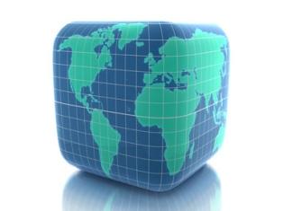 теорія, модель Землі, куб, сфера