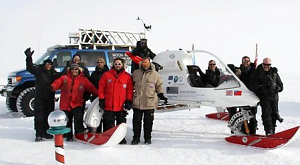 Антарктида, експедиція, аеросани , Ендрю Мун, Ендрю Ріган