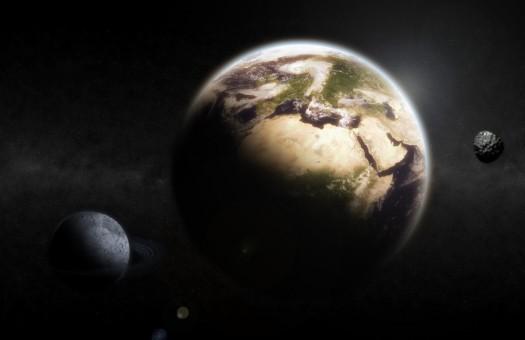 комета, Земля, вода, океан, Гершель