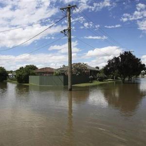 Зливові дощі, Австралія, повінь, стихійне лихо, Брісбен