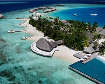 Пляж на Мальдівах