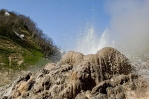 вулкан, грязь, життя, Франція, геологи