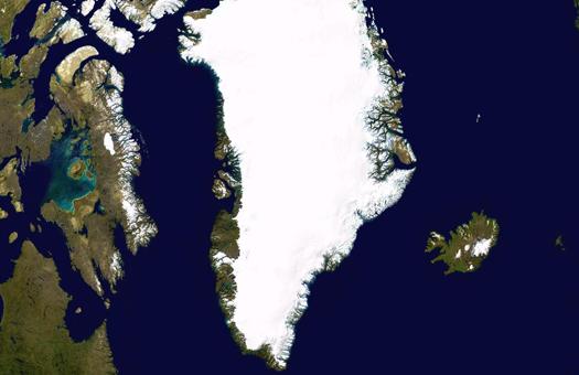 Гренландія, танення, Постдам, лід, потепління