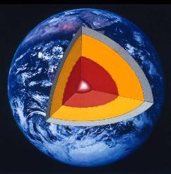 земне ядро, геофізика, університет, Брістоль, шар