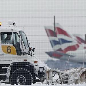 аеропорт, Європа, негода, снігопад, Хітроу
