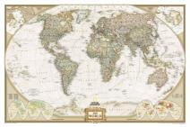політична карта світу, географічні карти, великий масштаб, карта країн