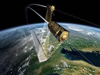 Злочевський, Злочевський, космічний моніторинг, екологічна ситуація, супутник