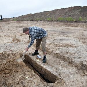 Харольд Синьозубий, Данія, археологічні розкопки, королівський маєток