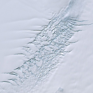 льдовик, Антарктида, Пайн-Айленд ,потепління