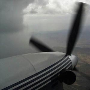 Погода, Літак, Учений, Вчені, Хмари