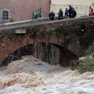 Франція, повінь, затоплення