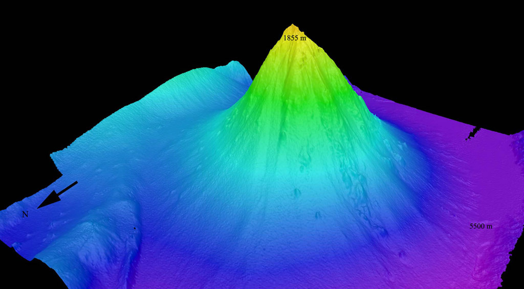 Величезний підводний вулкан знайдено