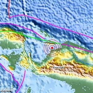 Індонезія, Тихоокеанське вогняне кільце, землетрус