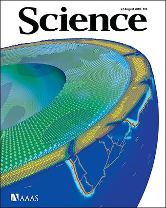 модель, мантійні течії, рух літосферних плит