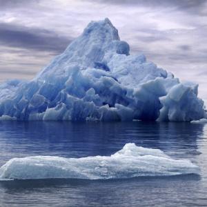 Гренландія, айсберг, льодовик Петерманна