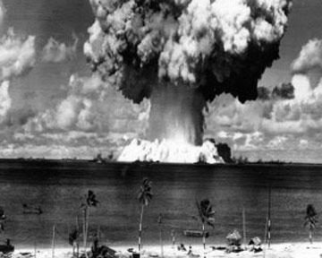 ЮНЕСКО, атол, Бікіні, ядерні випробовування