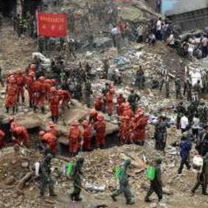 Китай, зсуви, лбдські жертви
