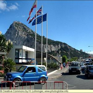 Гібралтар, Великобританія, Іспанія, мито