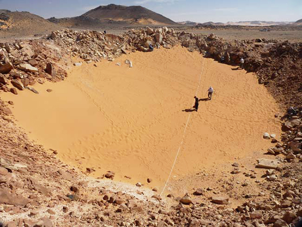 Єгипет, кратер, астроном