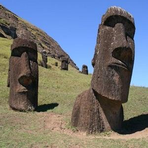 статуї, острів Пасхи, символ щастя