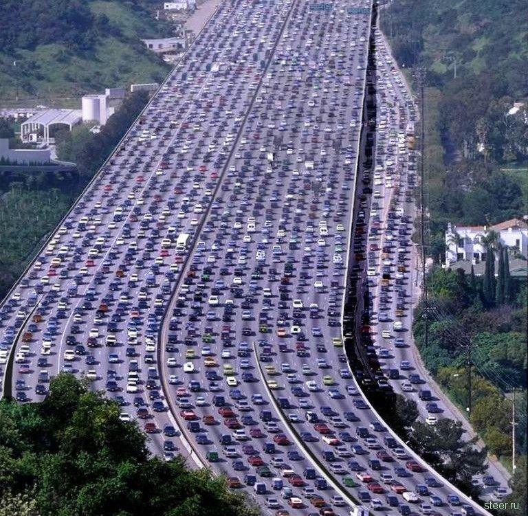 Автомобільна пробка китай пекін