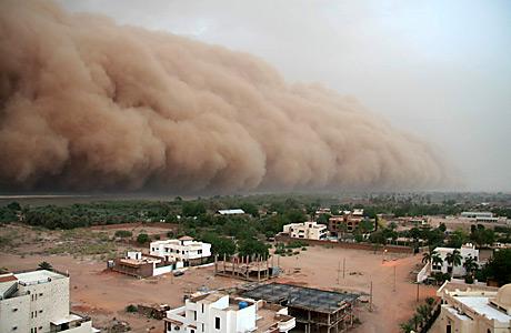 Африка, западина Чаду, Амазонська низовина, пил, перенесення