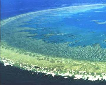 Великий бар'єрний риф, дослідження, ехолокатор