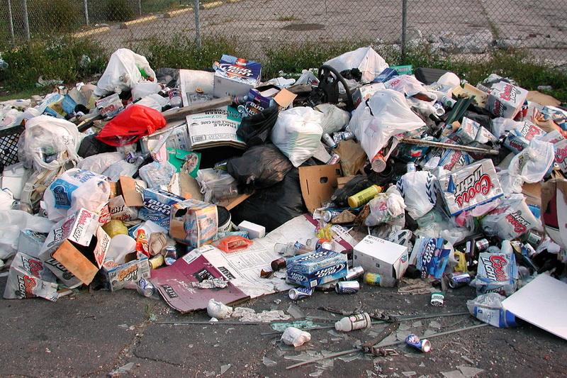 США, сміття, виробництво, продукція, відходи