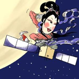 Місяць, зонд, Китай