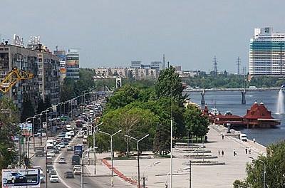 Дніпропетровськ, місто, еклетронна карта