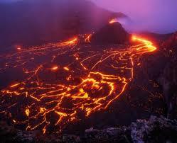сибірська лава, вимирання, виверження