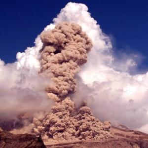 Шивелуч, Камчатка, вулкан, виверження