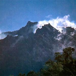 Індонезія, вулккан, Томборо