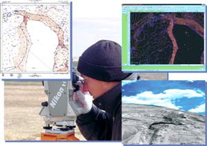 Методи дослідження, картографування ландшафтів, експедиція, лабораторія